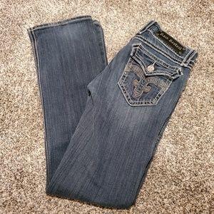 Rock Revival Debbie Boot Cut Jeans Blue 29